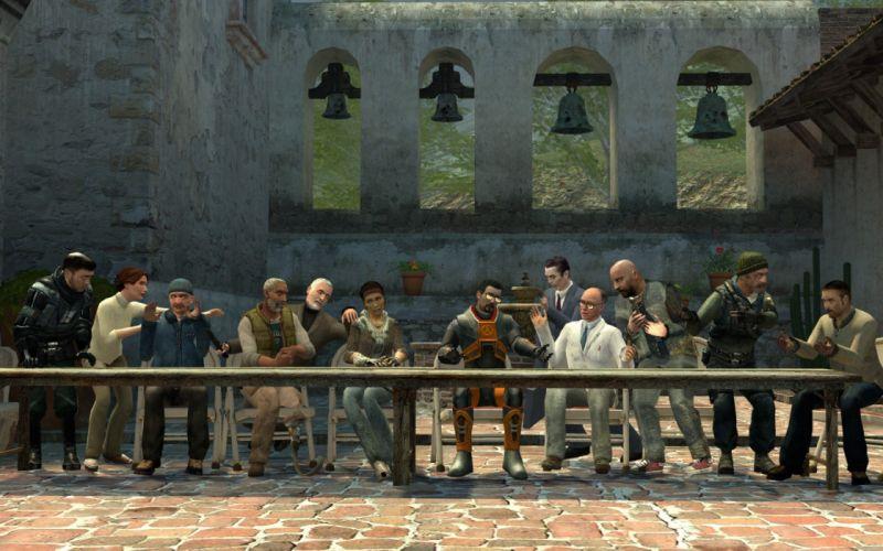Half-Life The Last Supper wallpaper