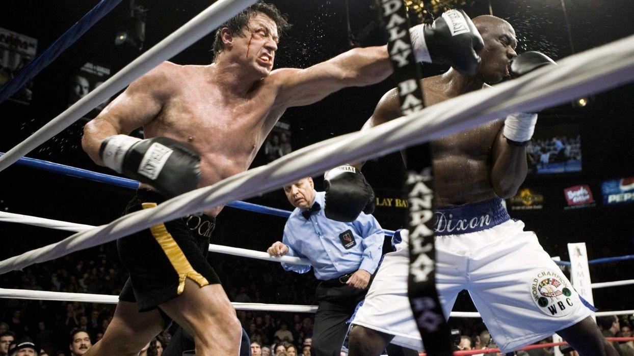 movies Rocky Balboa Sylvester Stallone punch wallpaper
