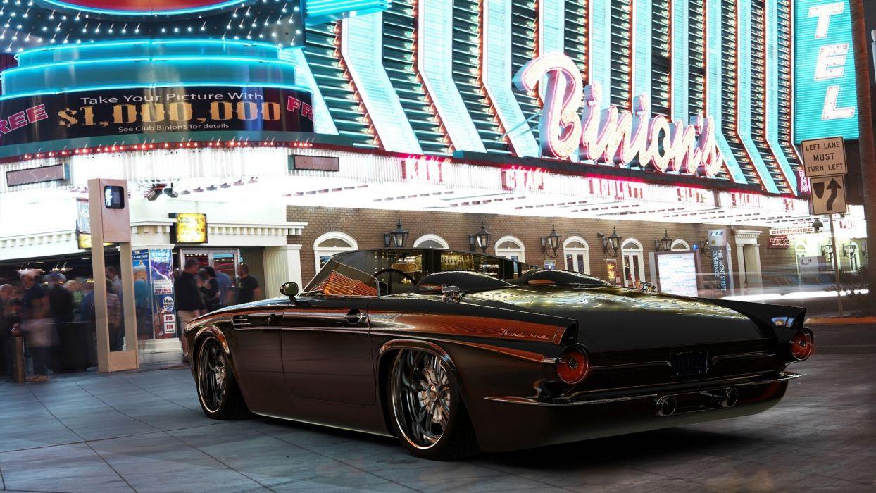 Las Vegas tuning Ford Thunderbird wallpaper