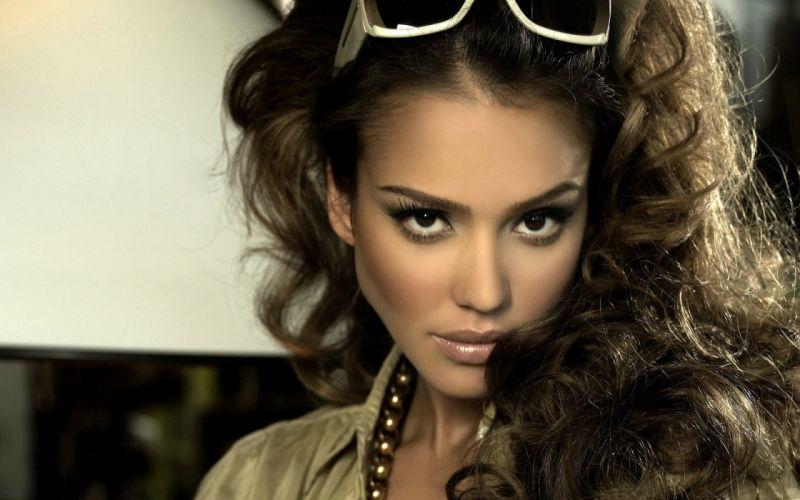 women American Jessica Alba actress models wallpaper
