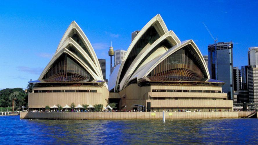 opera house Australia Sydney Opera House wallpaper