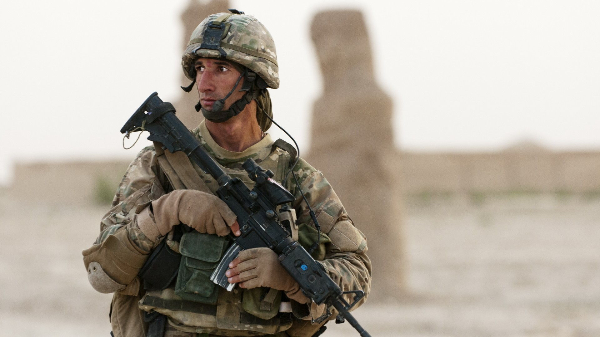 Soldiers war guns army Afghanistan US Marines Corps US ...