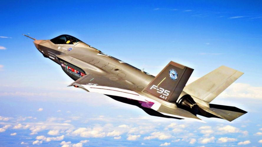 aircraft fighters f35 wallpaper