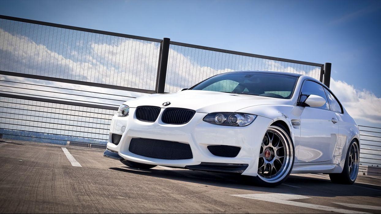 white cars wheels BMW M3 white cars BMW E92 wallpaper