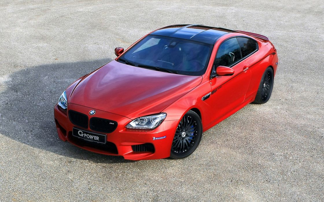 cars tuning coupe BMW M6 G Power wallpaper
