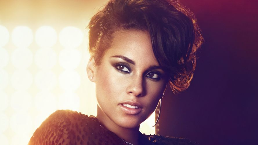women black people music models USA Alicia Keys singers wallpaper