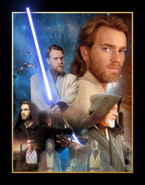 Star Wars Ewan Mcgregor Anakin Skywalker Hayden Christensen Obi-Wan Kenobi wallpaper