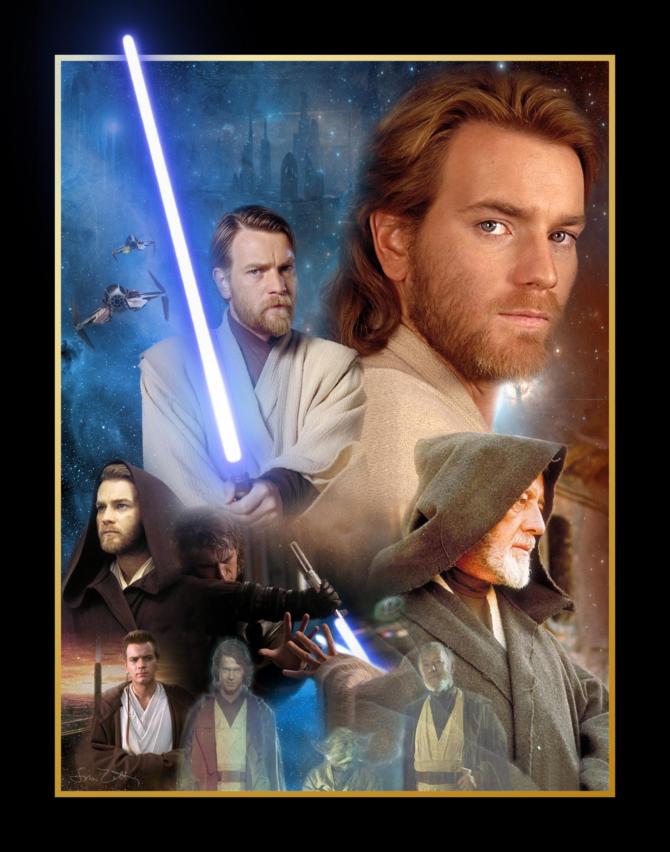 Star Wars Ewan Mcgregor Anakin Skywalker Hayden Christensen Obi