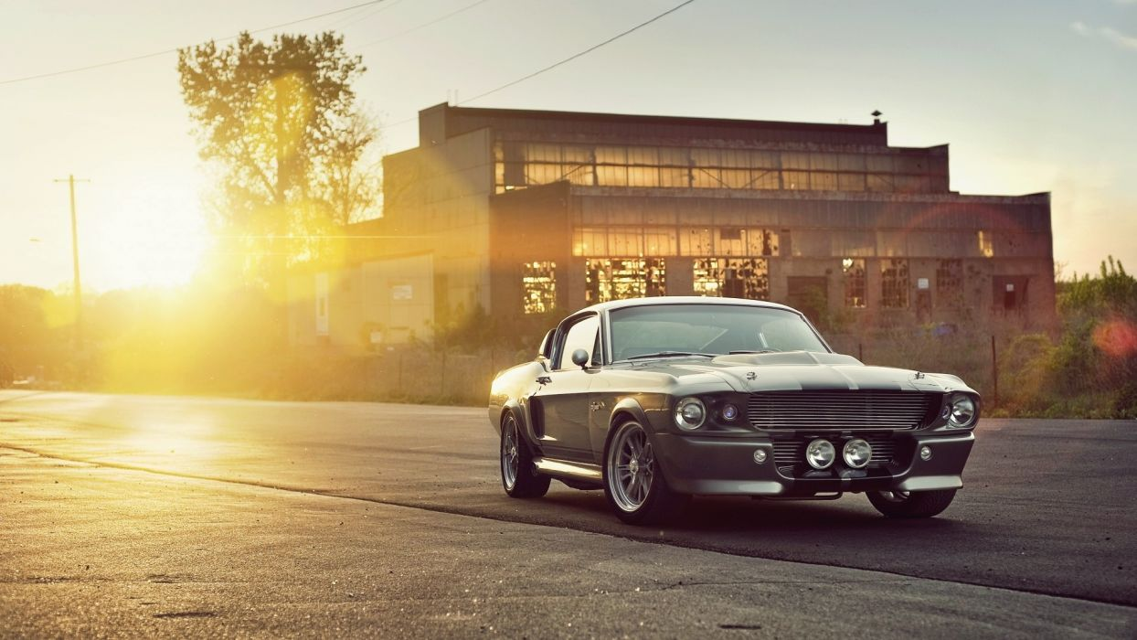 cars vehicles Ford Mustang Eleanor Shelby GT500 wallpaper