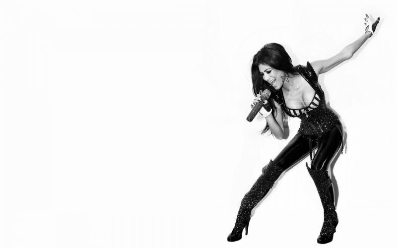 lingerie legs boobs women ass Nicole Scherzinger wallpaper