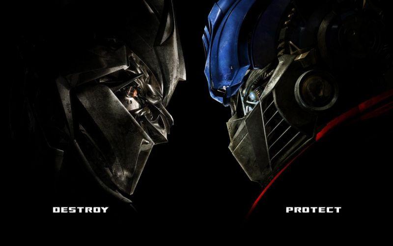 Optimus Prime Transformers robot Megatron wallpaper
