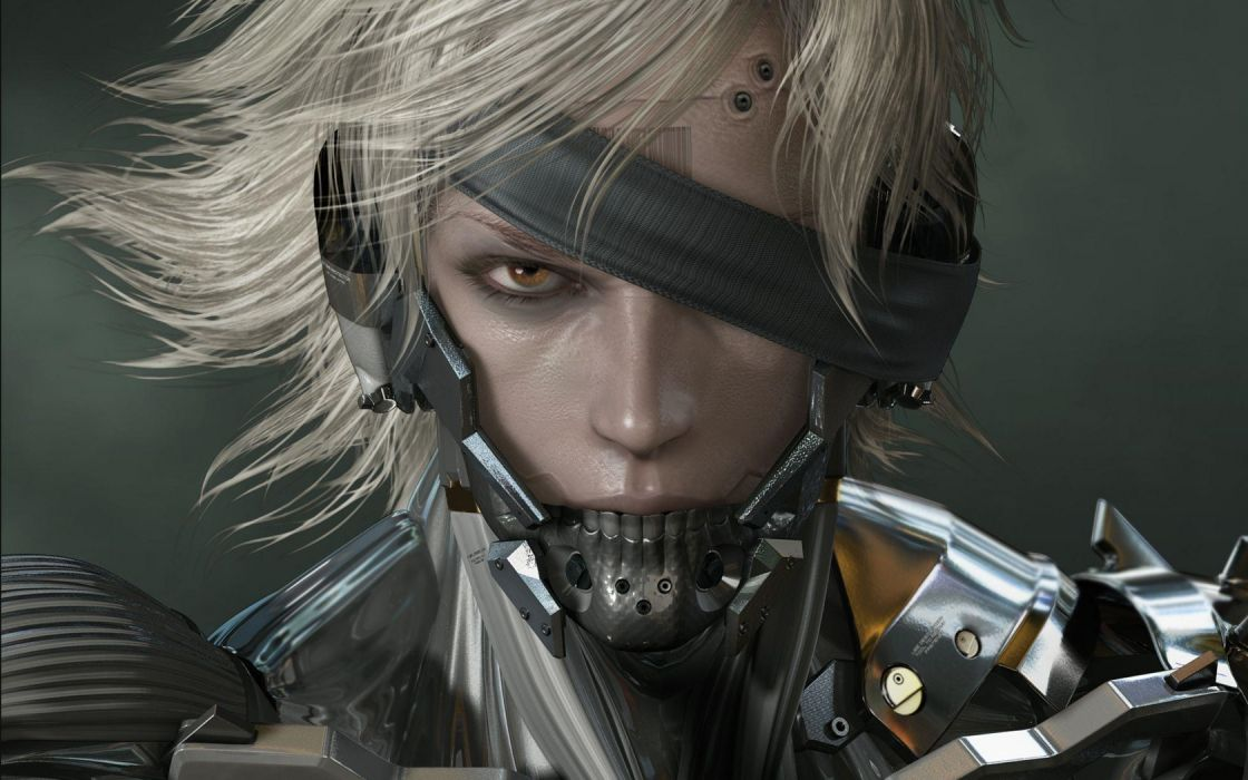 Raiden Metal Gear Solid Rising wallpaper