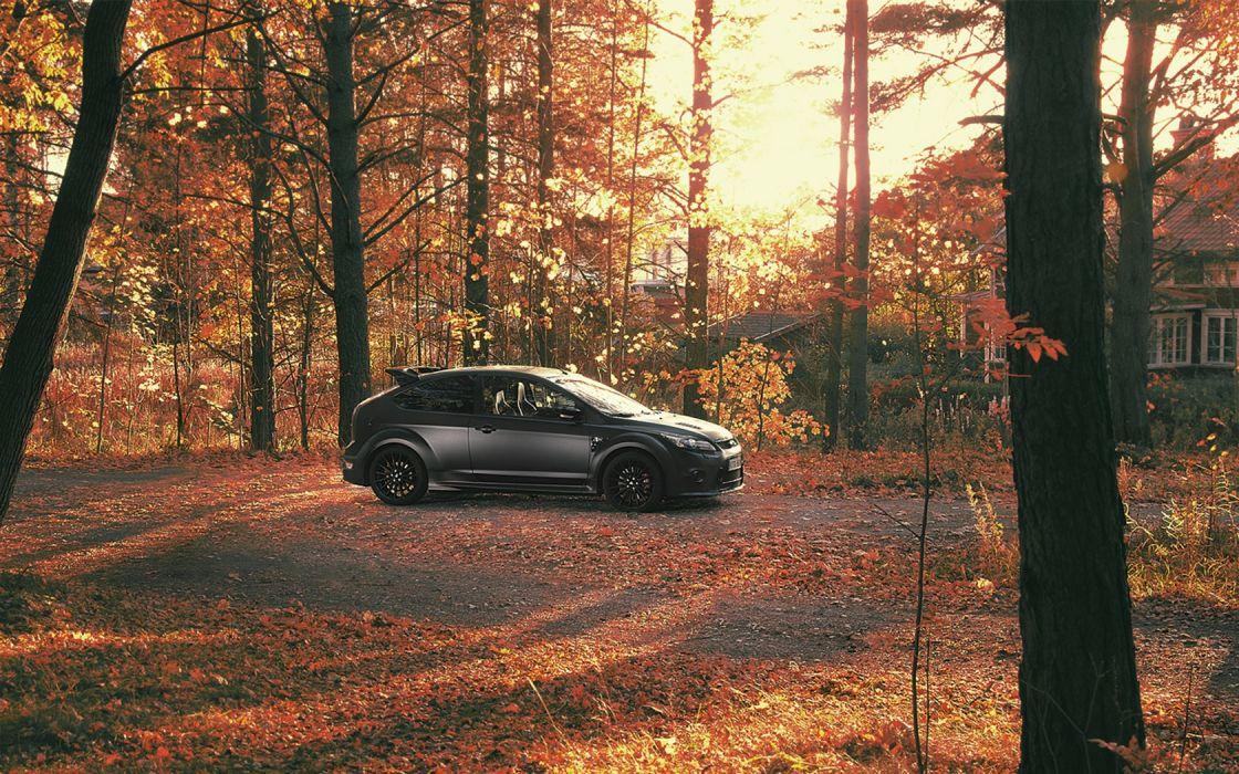 autumn (season) cars Ford Ford Focus ST wallpaper