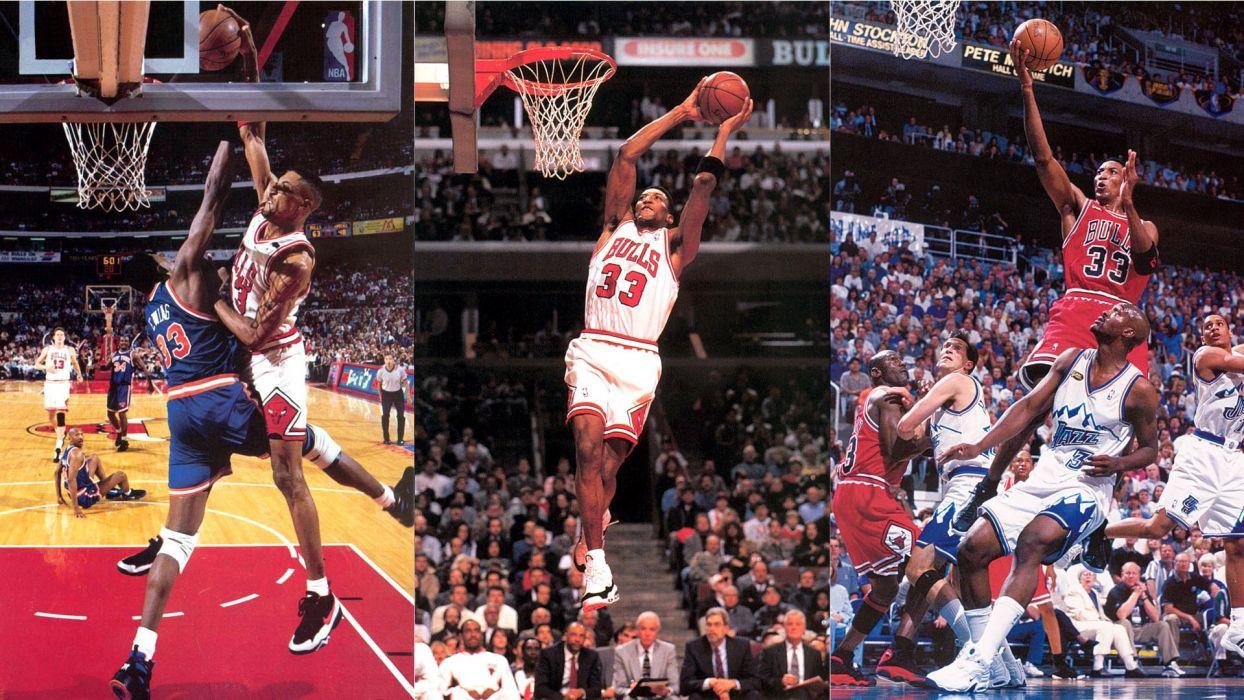 Nba Chicago Bulls Scottie Pippen Basketball Wallpaper 1920x1080 61049 Wallpaperup