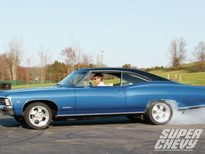 cars muscle cars burnout classic cars Impala Super Chevy Magazine wallpaper