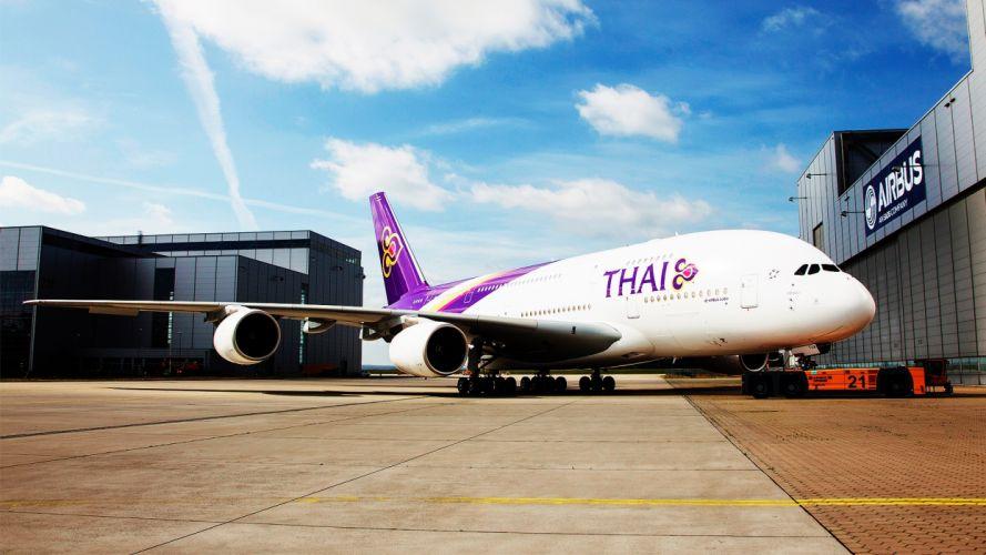 Airbus Thai wallpaper