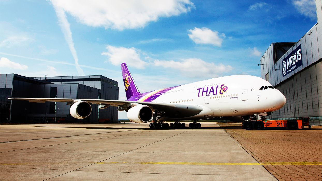 Airbus Thai wallpaper