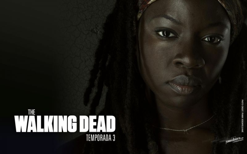Walking Dead Spanish The Walking Dead TV shows Michonne show Danai Gurira wallpaper
