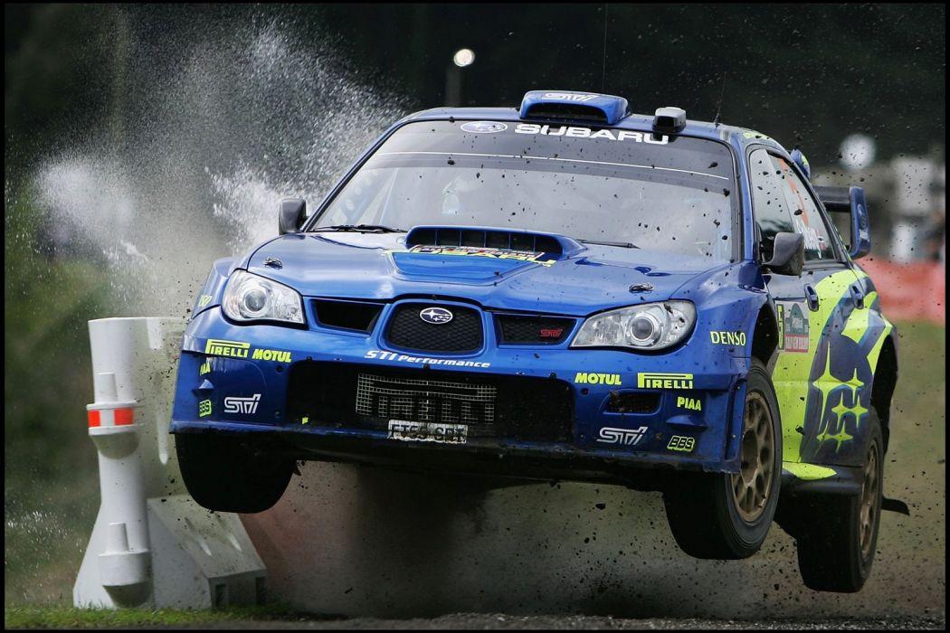 cars Subaru Impreza WRC racing wallpaper