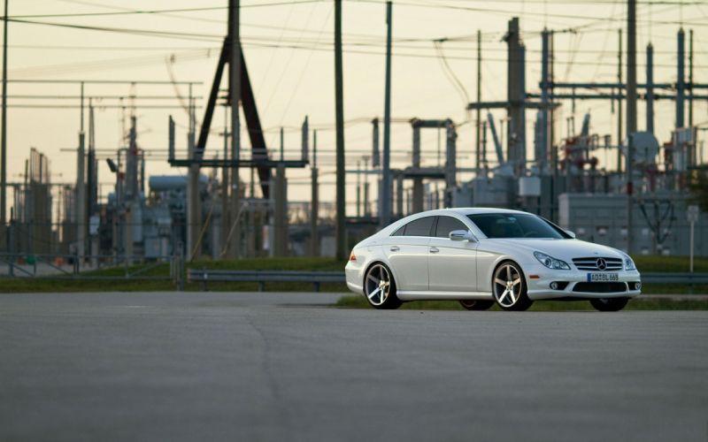 cars white cars Mercedes-Benz CLS-Class Mercedes-Benz CLS wallpaper