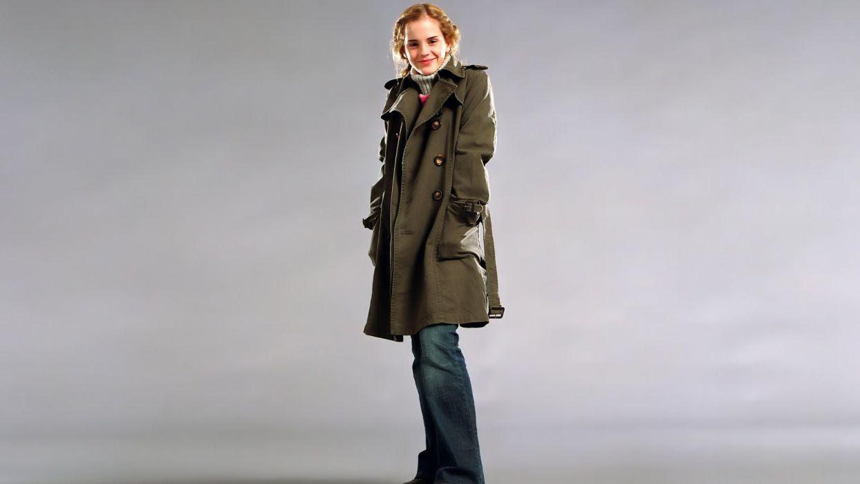 blondes women Emma Watson actress celebrity wallpaper