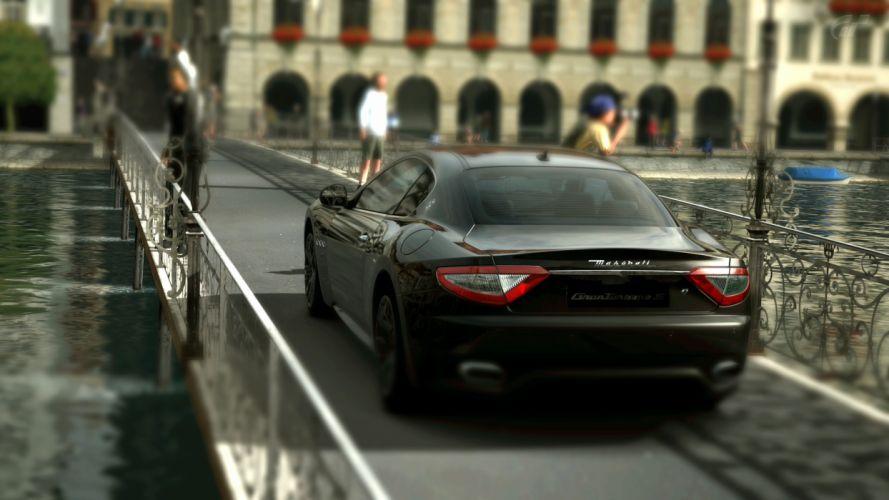 Maserati Gran Turismo vehicles wallpaper