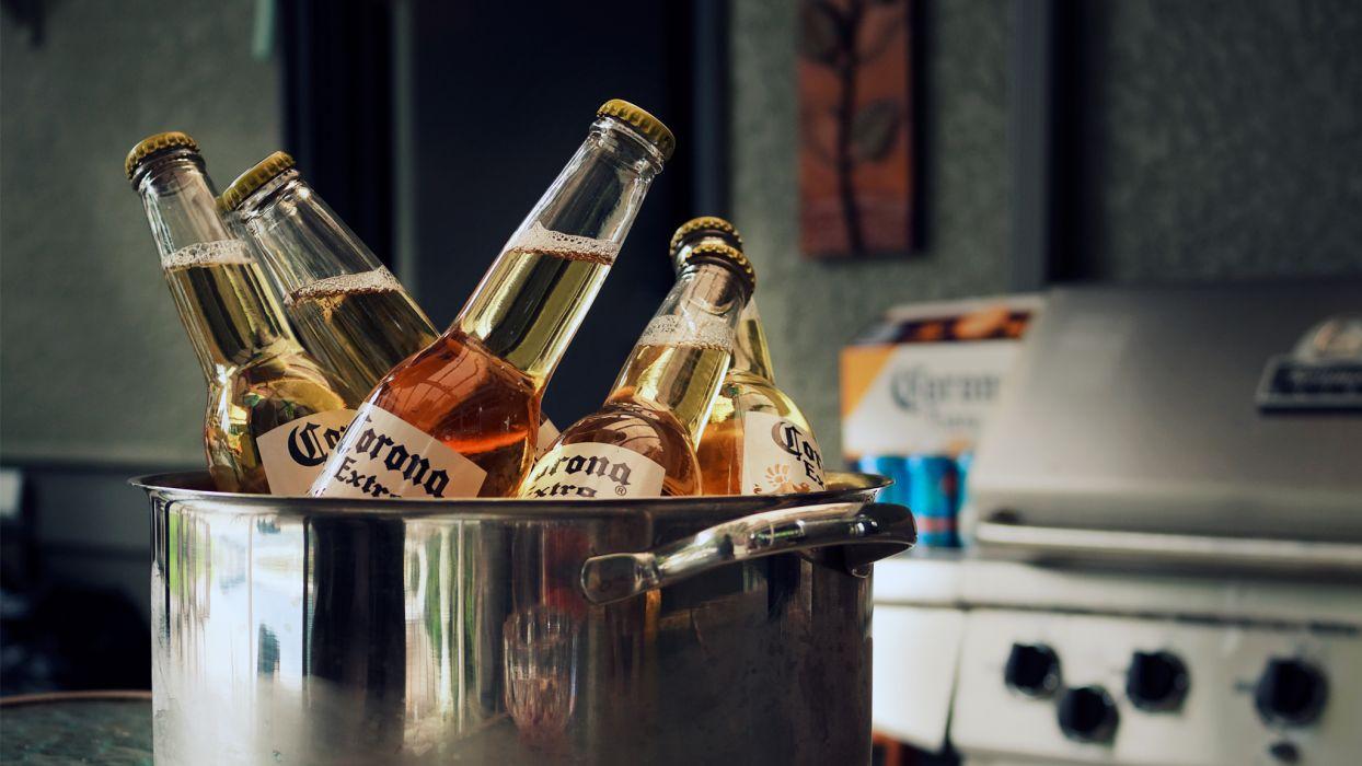 beers Corona wallpaper