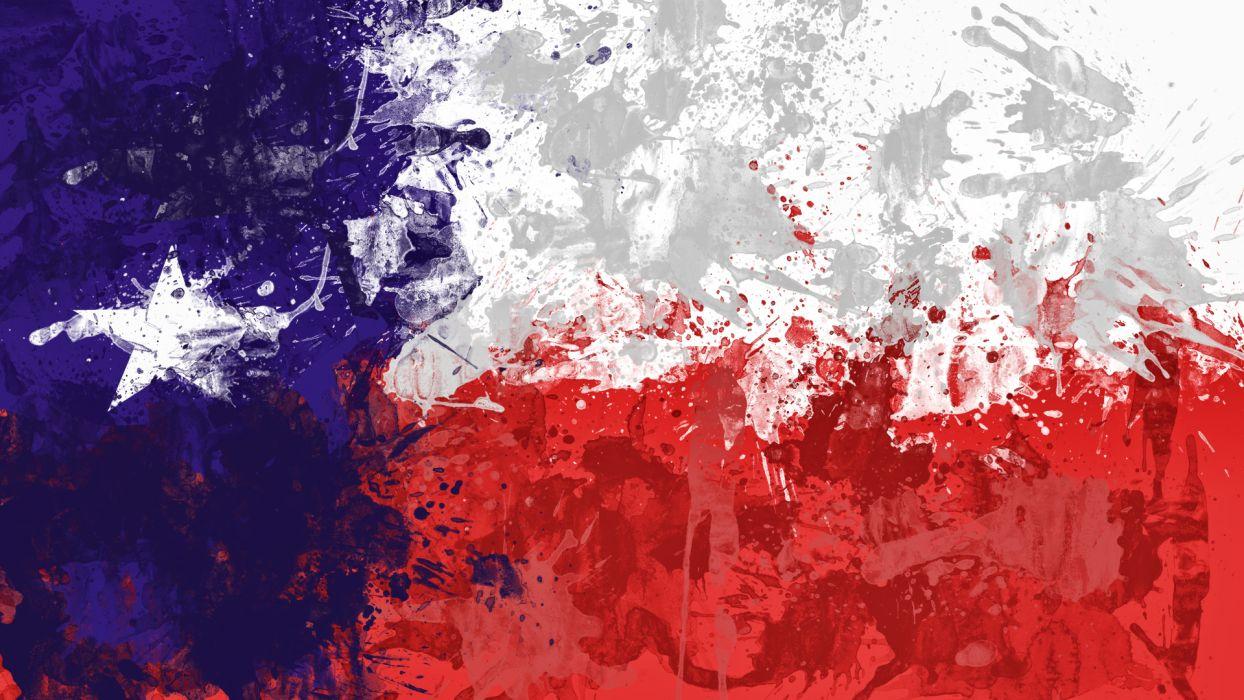flags Texas wallpaper