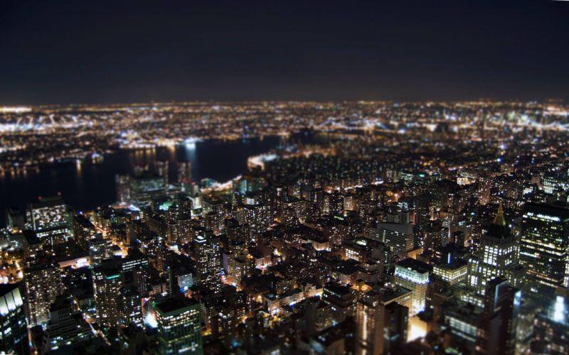 city lights city night wallpaper