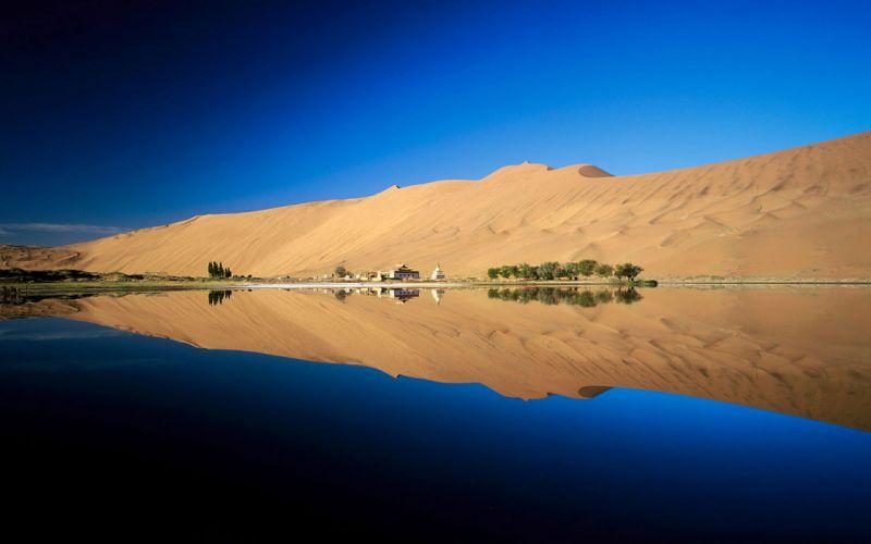 landscapes desert wallpaper
