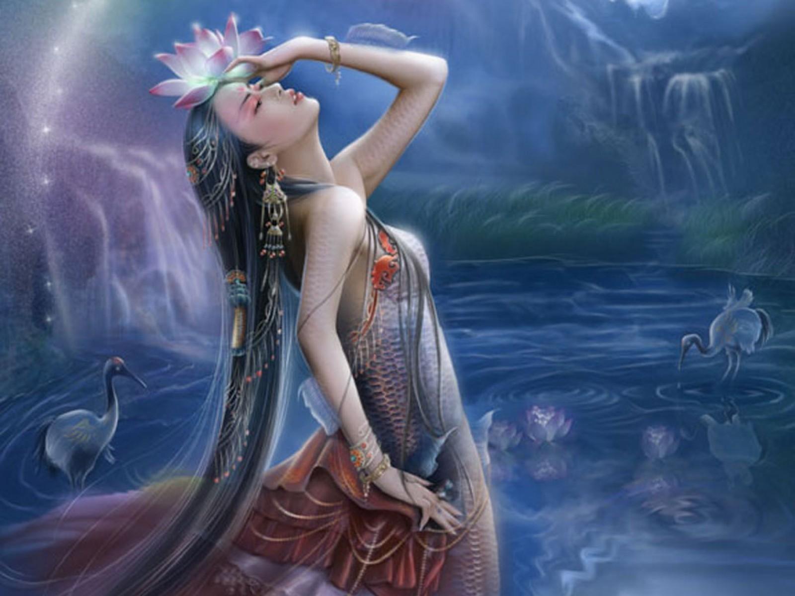 Erotic mythical fantasy art