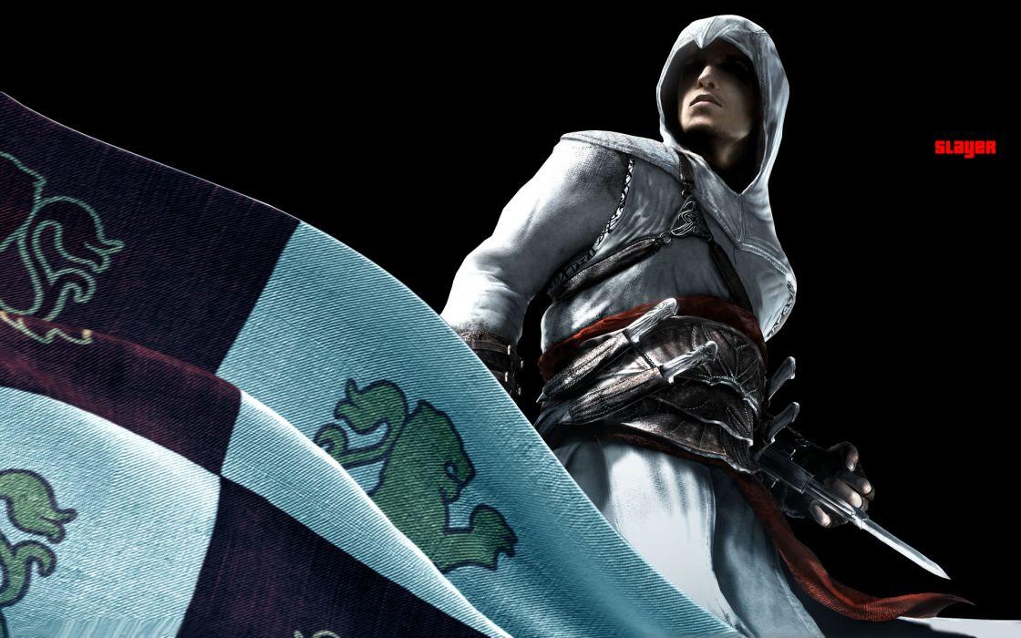 Assassins Creed Altair Ibn La Ahad Assassins Flags Xbox 360