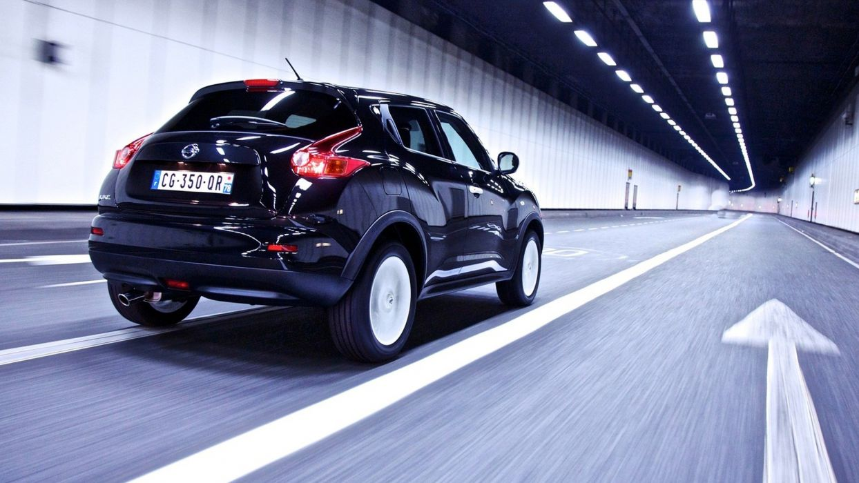 night lights cars tunnels Nissan roads vehicles Ministry Of Sound automobiles Nissan Juke-R nissan juke ministry of sound wallpaper