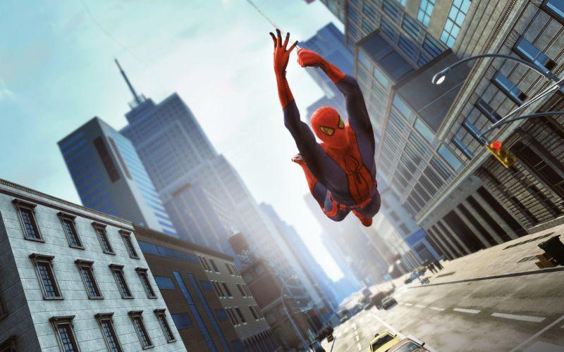 video games Spider-man video game wallpaper