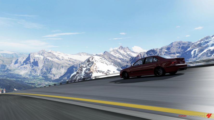 video games cars Xbox 360 BMW M5 Forza Motorsport 4 wallpaper