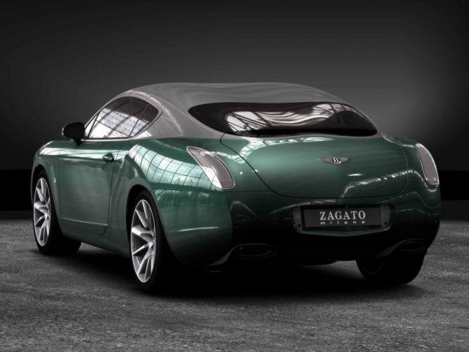 cars ride Bentley Zagato wallpaper