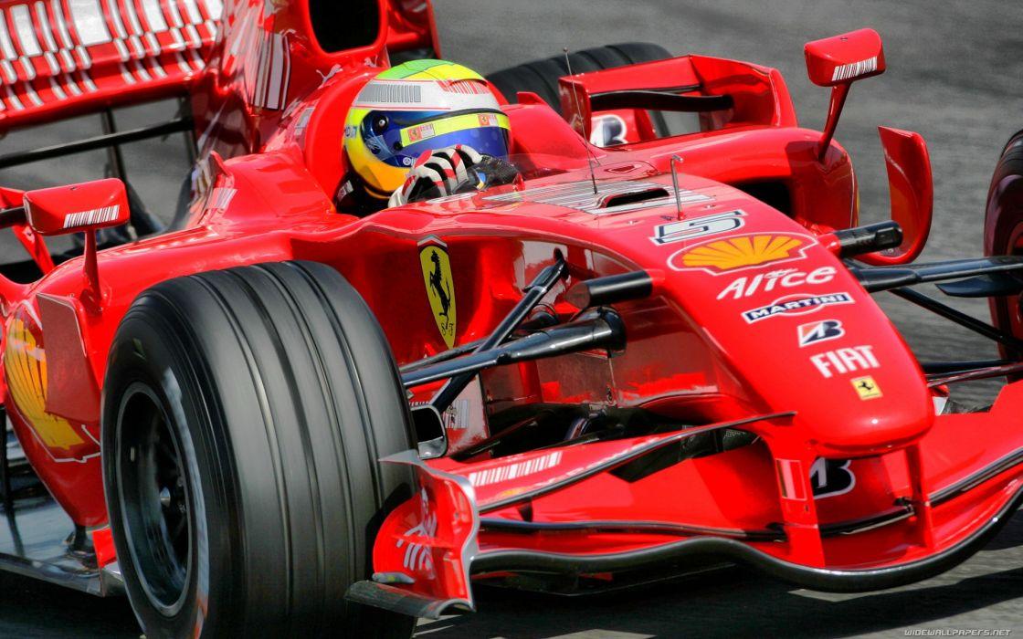 Ferrari Formula One Felipe Massa racing cars wallpaper
