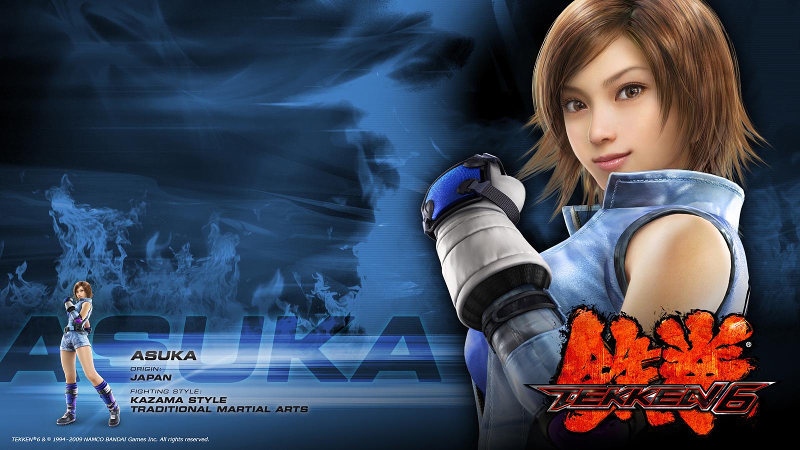 Tekken 6 Asuka Kazama Wallpaper 1600x900 61612 Wallpaperup