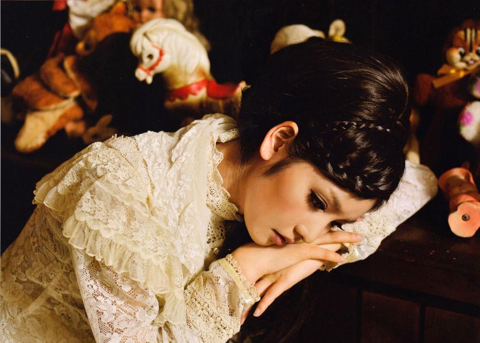 women models Japanese Sayumi Michishige wallpaper