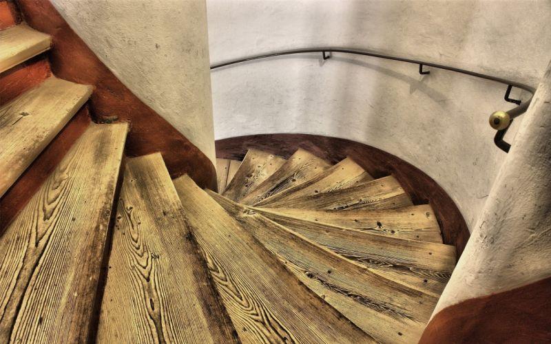 stairways Complex Magazine natural wallpaper