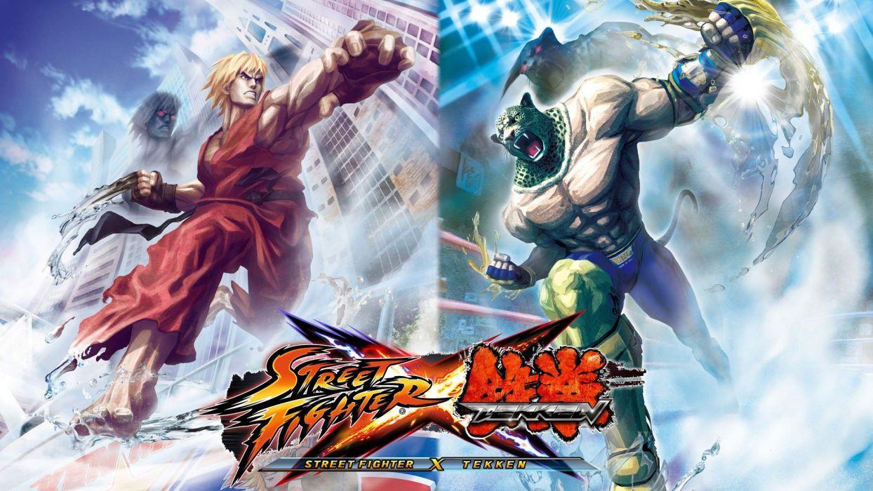 video games Street Fighter Street Fighter X Tekken wallpaper