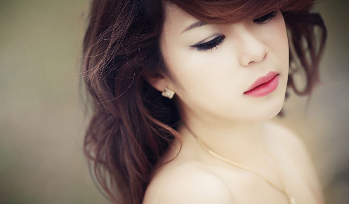 women Asians wallpaper