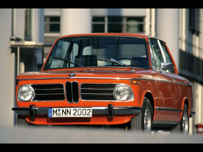 cars BMW 2002 classic cars tii Reconstructed wallpaper