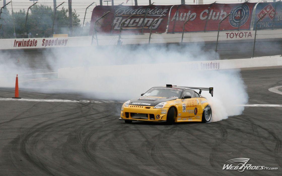 cars day drifting cars drifting Nissan Fairlady Z33 350Z wallpaper