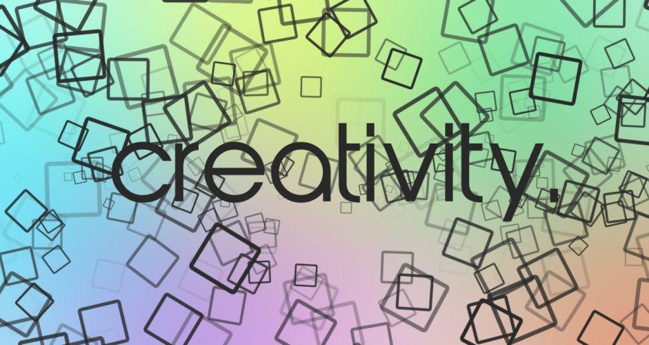 multicolor cubes creativity squares photomanipulation wallpaper