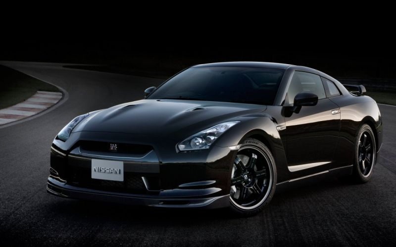 cars vehicles side view Nissan GT-R R35 wallpaper