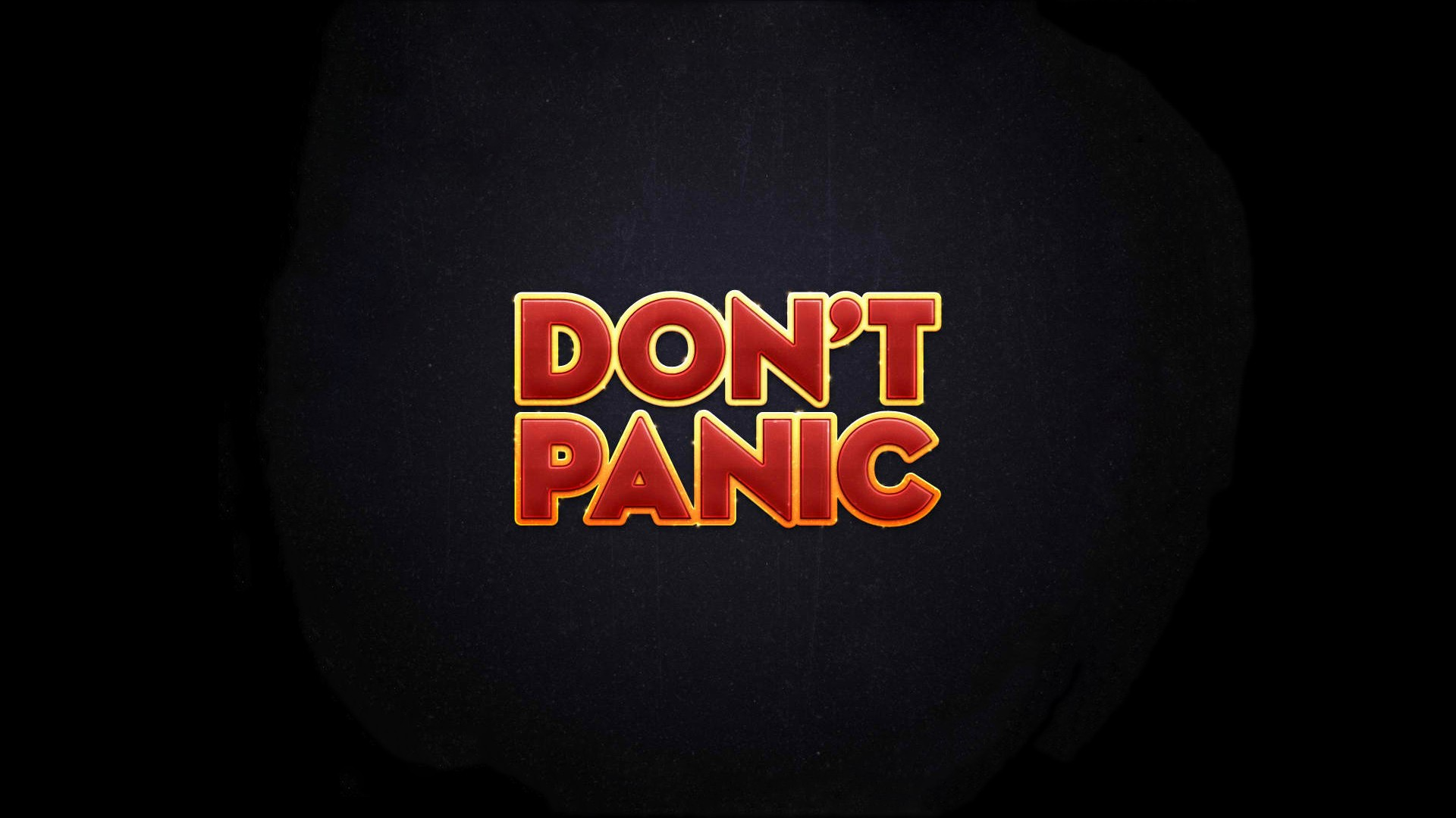 The Hitchhikers Guide To The Galaxy Don't Panic wallpaper ...