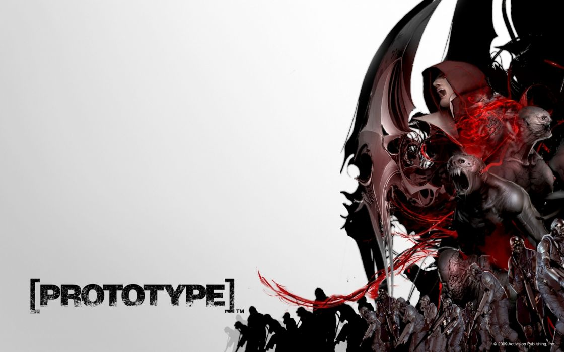 video games 3D render Prototype (video game) Activision mutation wallpaper
