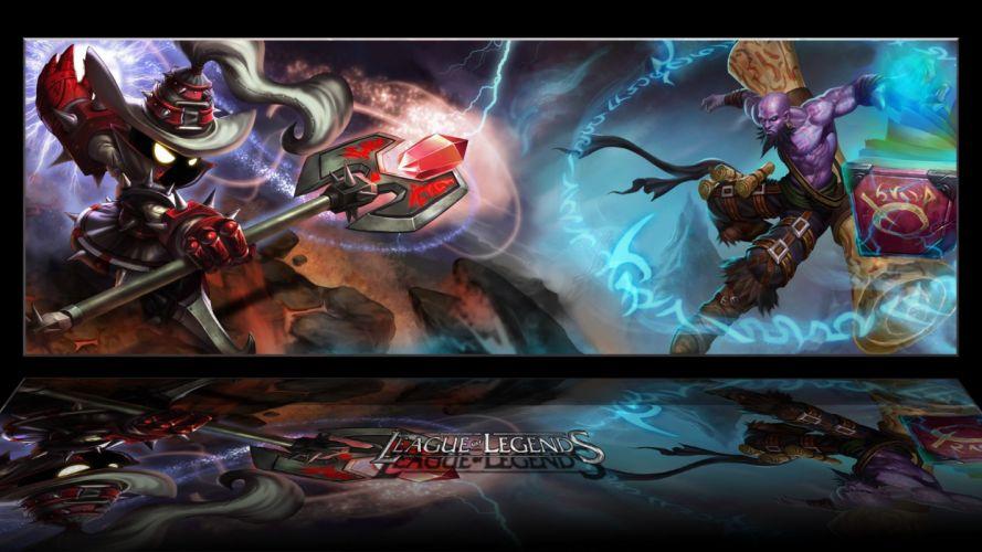 League of Legends Veigar Ryze wallpaper