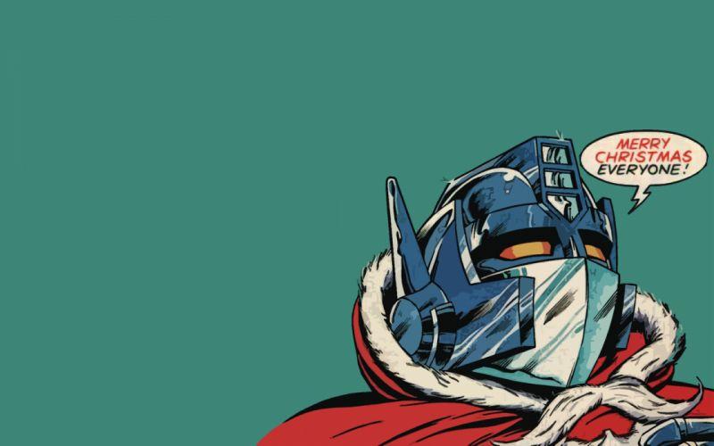 Optimus Prime Transformers Christmas wallpaper